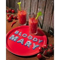 Purchase the Jamida Word Collection Bloody Mary Round Tray 31cm online at smithsofloughton.com