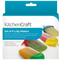 Purchase the KitchenCraft Set of 4 Lolly Makers online at smithsofloughton.com