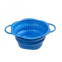 Purchase the Kuhn Rikon Kochblume Collapsible Colander Light Blue 19cm online at smithsofloughton.com