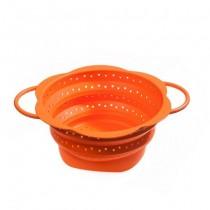 Purchase the Kuhn Rikon Kochblume Collapsible Colander Orange 19cm online at smithsofloughton.com