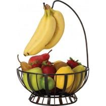 Purchase the Mikasa Fruit Basket With Banana Hanger online at smithsofloughton.com