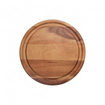 Purchase the T&G Tuscany Round Grooved Acacia Board 309mm online at smithsofloughton.com