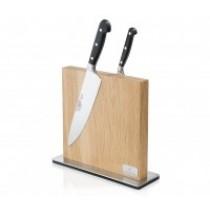 Purchase the Zassenhaus Magnetic Oak Knife Block Holder online at smithsofloughton.com