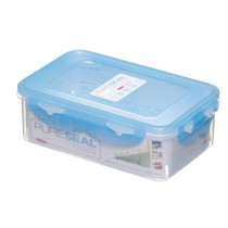 Pure Seal Rectangular 1 Litre Storage Container.