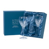 Buy Royal Scot Crystal Sapphire Small Wine Glasses online at smithsofloughton.com