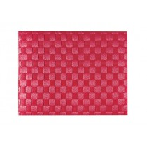 Buy Saleen Place Mat Woven Ruby Red online at smithsofloughton.com