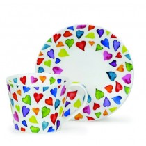 Shop for the Dunoon Warm Hearts Breakfast Cup and Saucer online at smithsofloughton.com