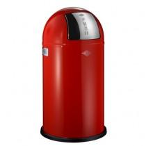 Wesco Pushboy 50L Red Bin