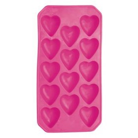 Bar Craft Mix It Flexible Heart Shape Ice Cube Tray
