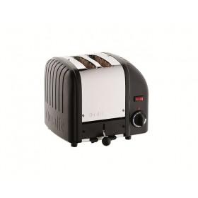 Dualit Vario 2 Slot Toaster Black
