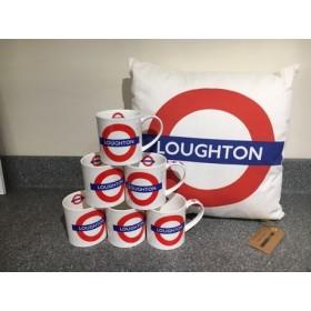 Dunoon Orkney Mug Loughton Underground Tube Station 350ml