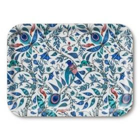 Jamida Emma J Shipley Rousseau Blue Lap Tray 27cm