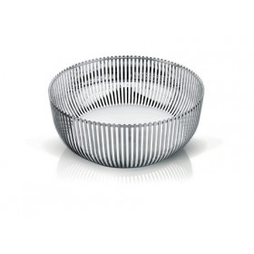Alessi Stainless Steel Basket or Fruit Bowl 24cm