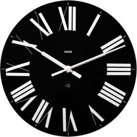 Alessi Firenze Clock Black 36cm