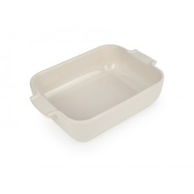 Appolia Rectangle Ceramic Baking Dish Ecru 25cm