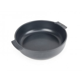 Appolia Round Ceramic Baking Dish Slate 27cm