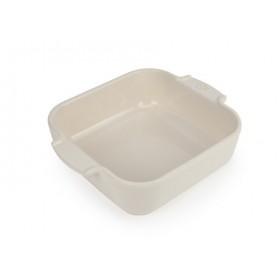 Appolia Square Ceramic Baking Dish Ecru 21cm