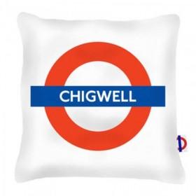Chigwell Tube Station Cushions 40cm
