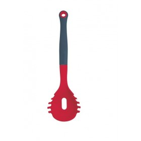 Colourworks Red Silicone Headed Pasta Serving Spoon / Measurer