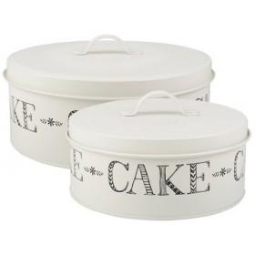 Stir It Up Set Of 2 Cake Tins