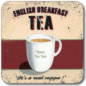 Customworks Breakfast Tea Drinks Coaster