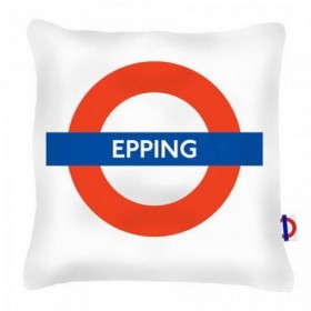 Epping Tube Station Cushions 40cm