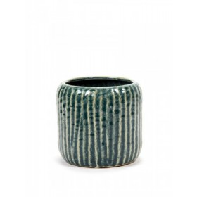 Serax Swamp Grey Rib Pot 15cm