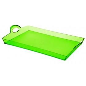 Guzzini Rectangular Tray Green