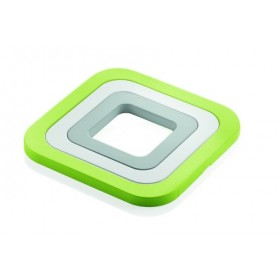 Guzzini Kitchen Set of 3 Trivets Green