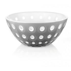 Guzzini Le Murrine Bowl 25cm Grey White