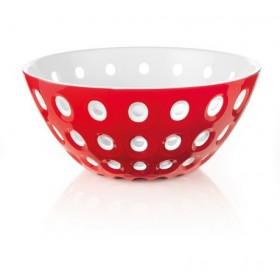 Guzzini Le Murrine Bowl 25cm Red White