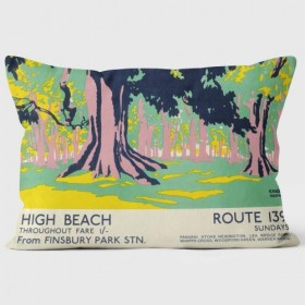 High Beach London Transport Cushions 35x45cm