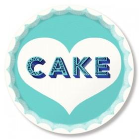 Jamida Asta Barrington Cake Food and Drinks Tray 39cm
