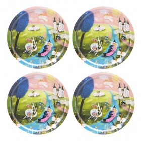 Jamida Bessie Johanson Good Life 4pc Drinks Coasters 11cm