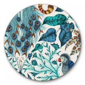 Jamida Emma J Shipley Amazon Blue Coaster 10cm