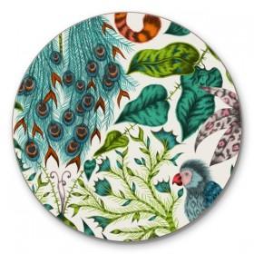 Jamida Emma J Shipley Amazon Green Coaster 10cm