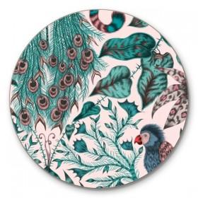 Jamida Emma J Shipley Amazon Pink Coaster 10cm