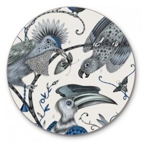 Jamida Emma J Shipley Audubon Blue Coaster 10cm