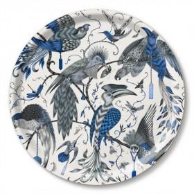 Jamida Emma J Shipley Audubon Blue Drinks Tray 39cm