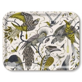 Jamida Emma J Shipley Audubon Gold Lap Tray 27cm