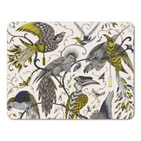 Jamida Emma J Shipley Audubon Gold Placemat 29cm