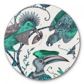Jamida Emma J Shipley Audubon Green Coaster 10cm