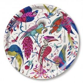 Jamida Emma J Shipley Audubon Multi Coloured Drinks Tray 39cm