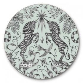 Jamida Emma J Shipley Kruger Green Coaster 10cm