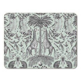 Jamida Emma J Shipley Kruger Green Table Place Mat 38cm