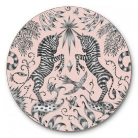 Jamida Emma J Shipley Kruger Pink Coaster 10cm