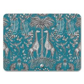 Jamida Emma J Shipley Kruger Turquoise Table Place Mat 29cm