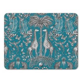 Jamida Emma J Shipley Kruger Turquoise Table Place Mat 38cm