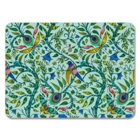 Jamida Emma J Shipley Rousseau Turquoise Placemat 29cm