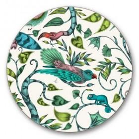 Jamida Emma J Shipley Rousseau Lime Coaster 10cm